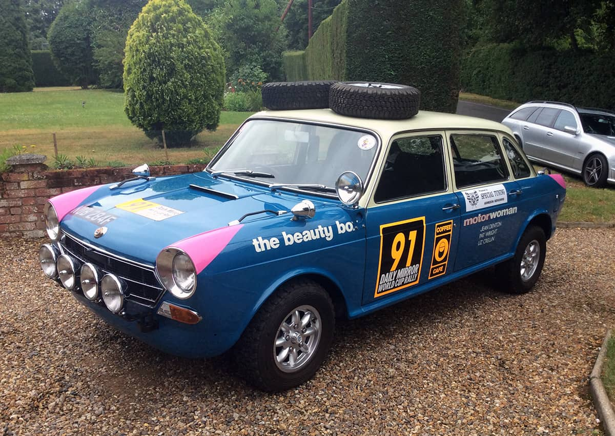 World Cup Rally 1968 Morris 1800 – For Sale