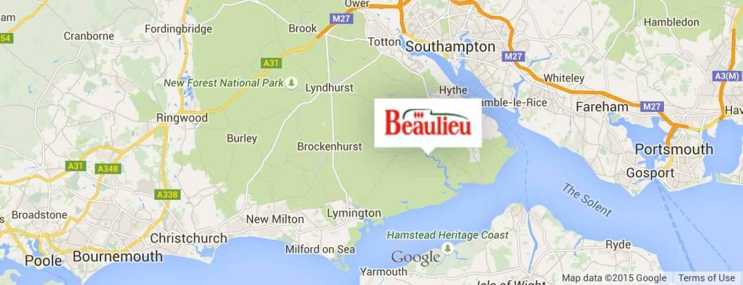 Beaulieu-Map