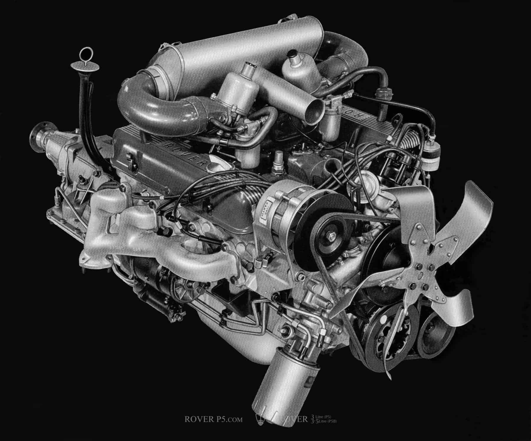 An Americans View of the Rover 3.5 Litre V8