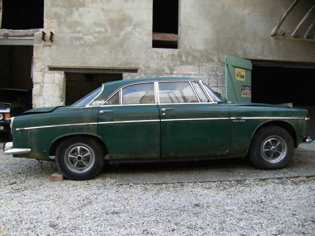 Rover P5B Coupe In The Nude [Dismantling Part 1]: Introduction
