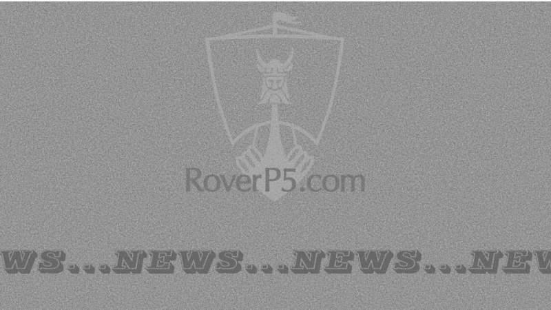 RoverP5.com Website Re-organisation