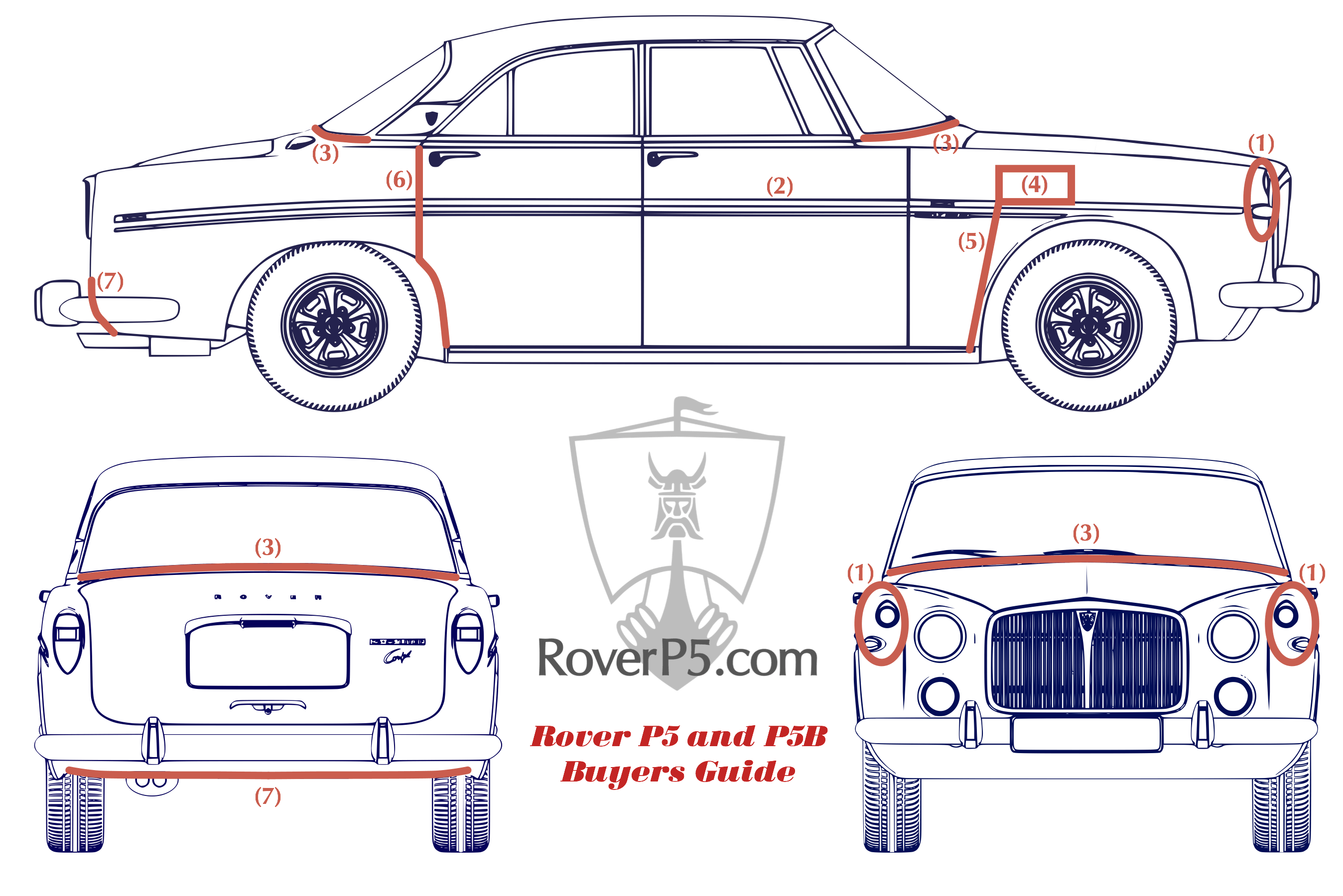 Rover P5b Wiring Diagram Schematic 820 P5 3 Litre And 35 Buyers Guiderhroverp5 At Tisza