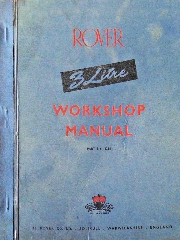 Roverp5 Com Review  Rover 3  U0026 3 5 Litre Workshop Manual