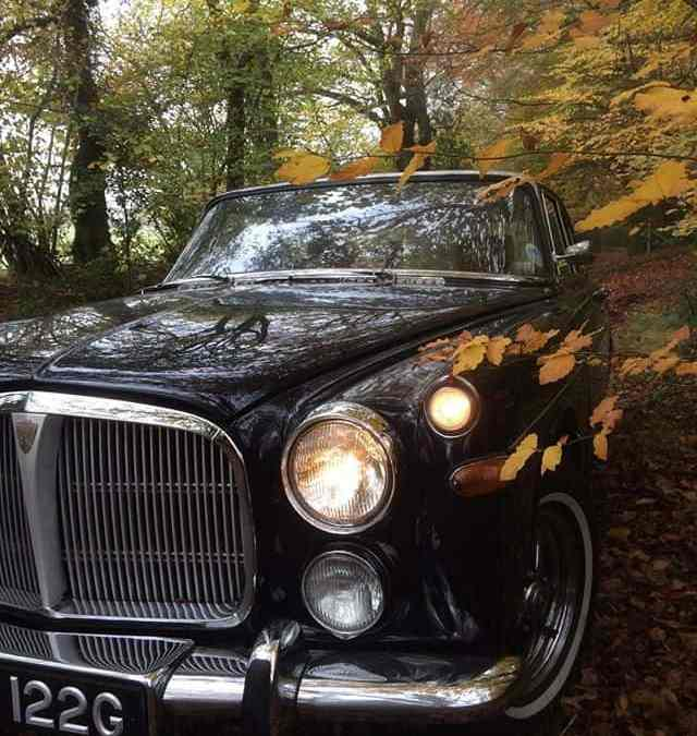 Rover P5 in the Autumn.