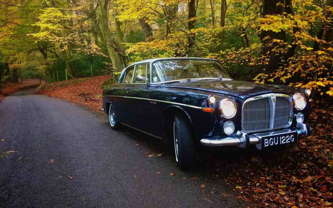 Car For Sale: 1968 Rover P5B Coupe