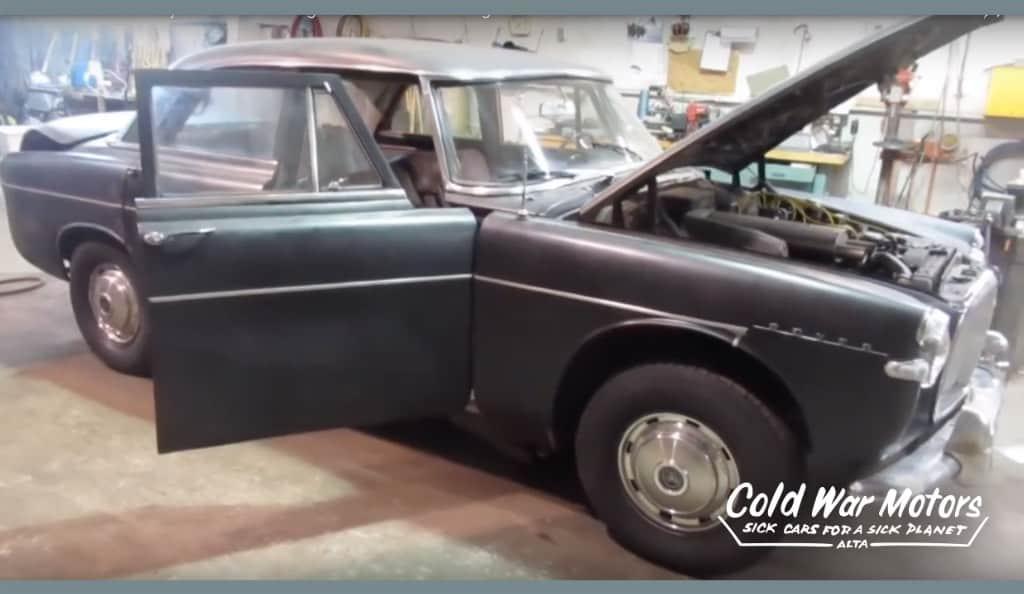 Cold War Motors 1963 Rover P5 Project