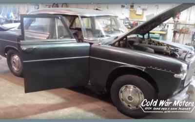 Cold War Motors 1963 Rover P5 Project