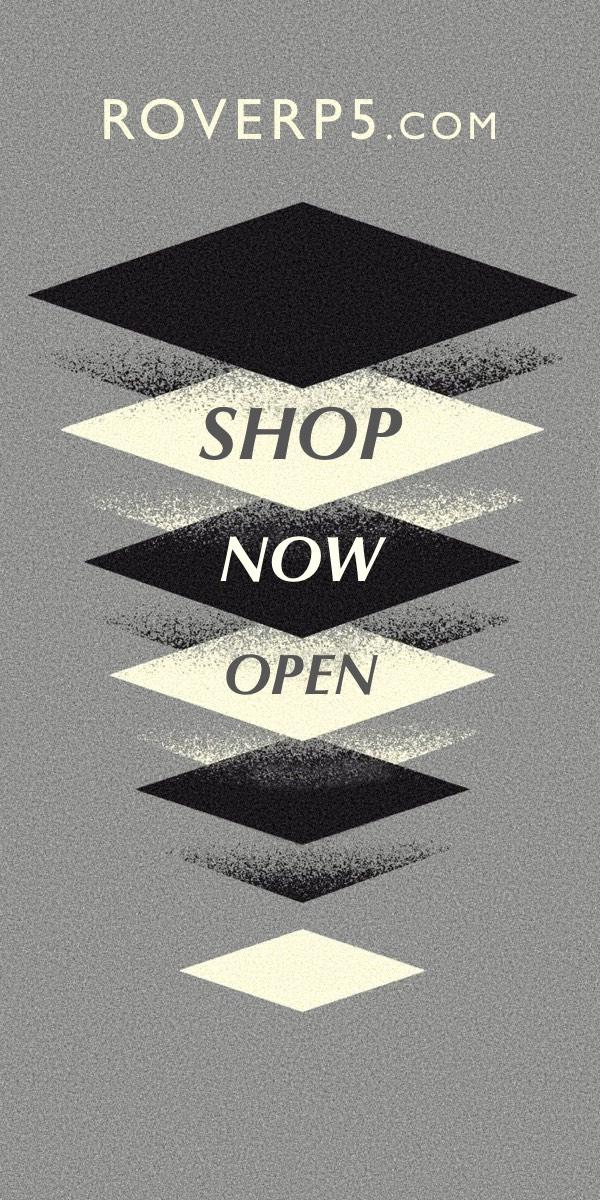 Roverp5.com Shop Now Open