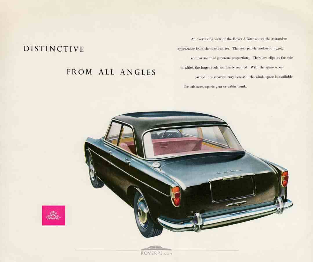 Brochure - 1959 - Rover The 3-Litre Saloon - Page 06