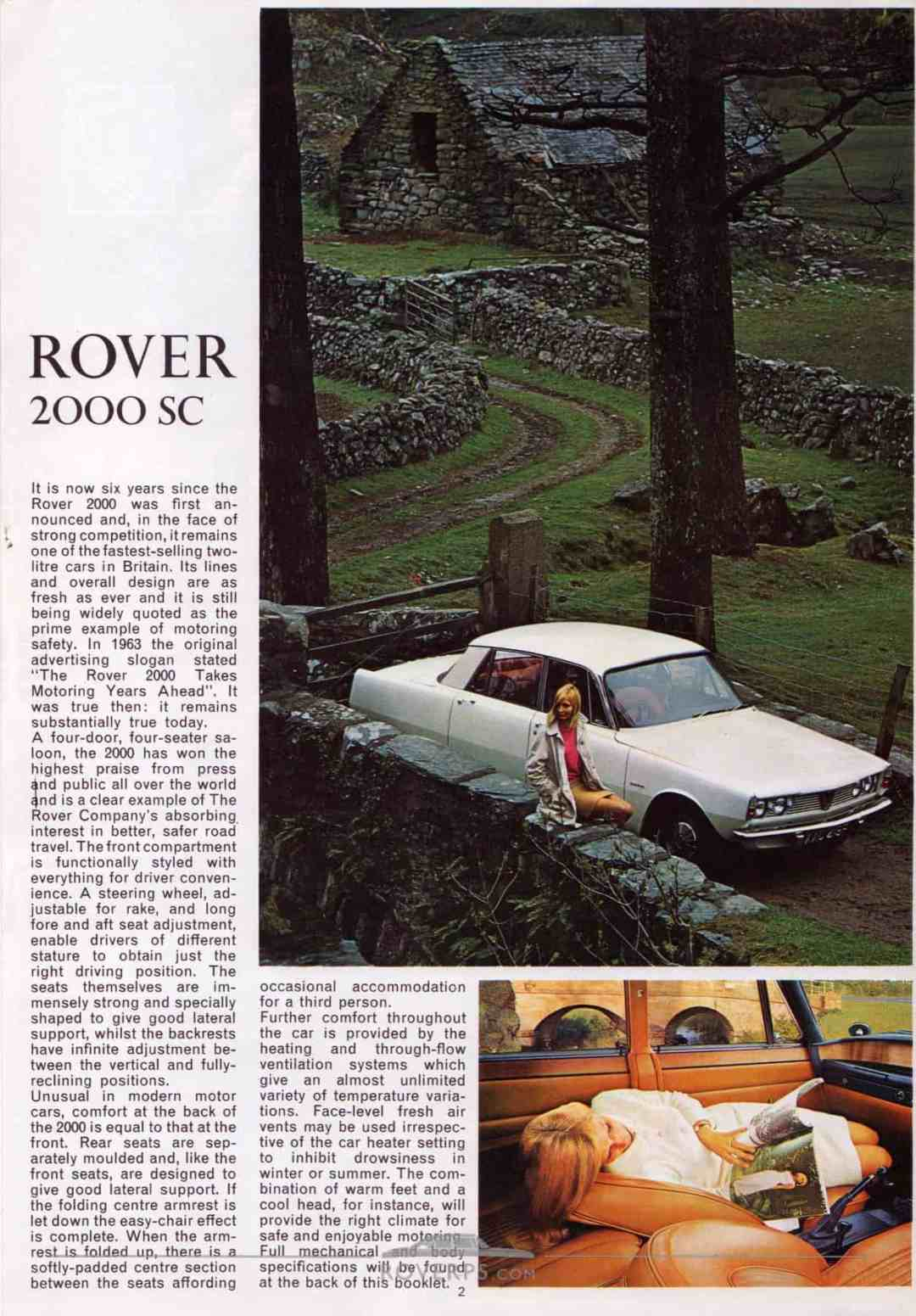 Brochure - 1969 - Rover - Page 01