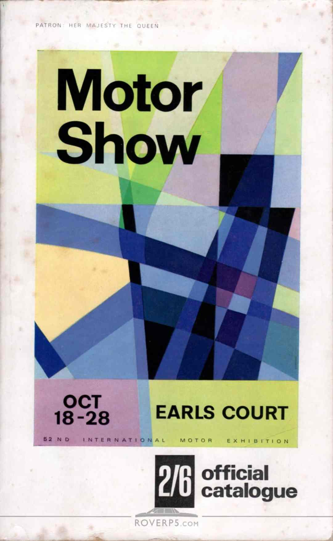 Catalogue - 196710 - Motor Show Guide - Front Cover