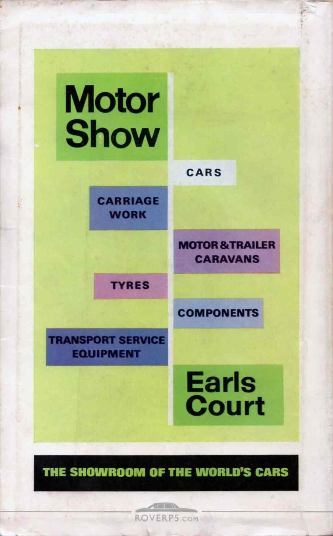 Catalogue - 196710 - Motor Show Guide - Rear Cover