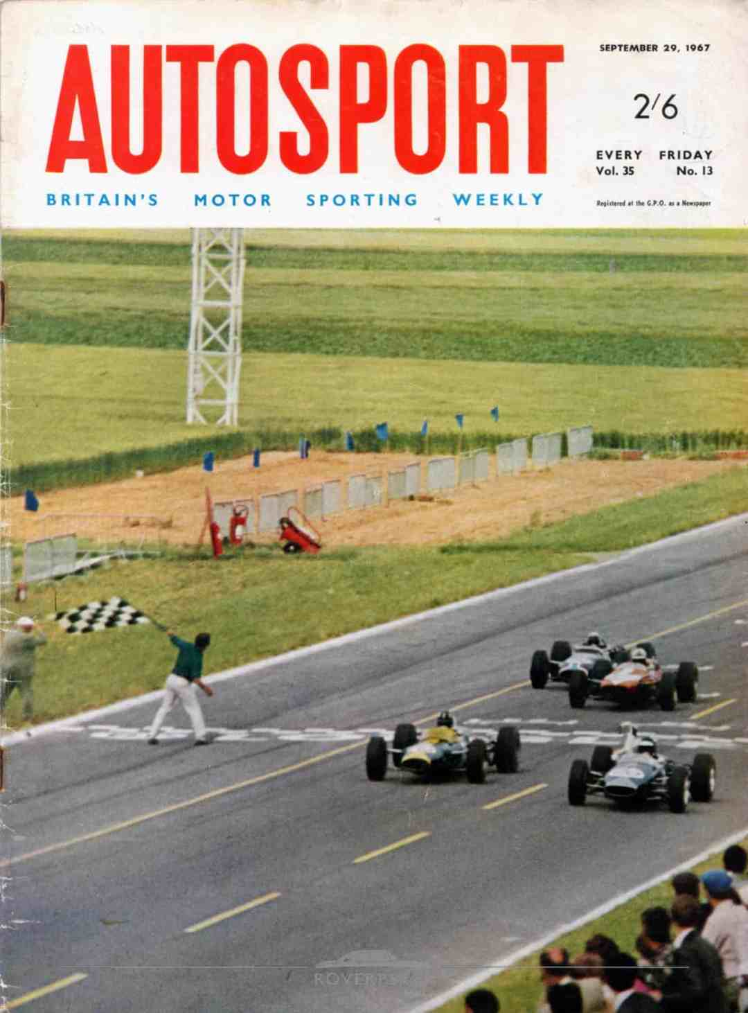 Magazine - 19670929 - Autosport - Front Cover