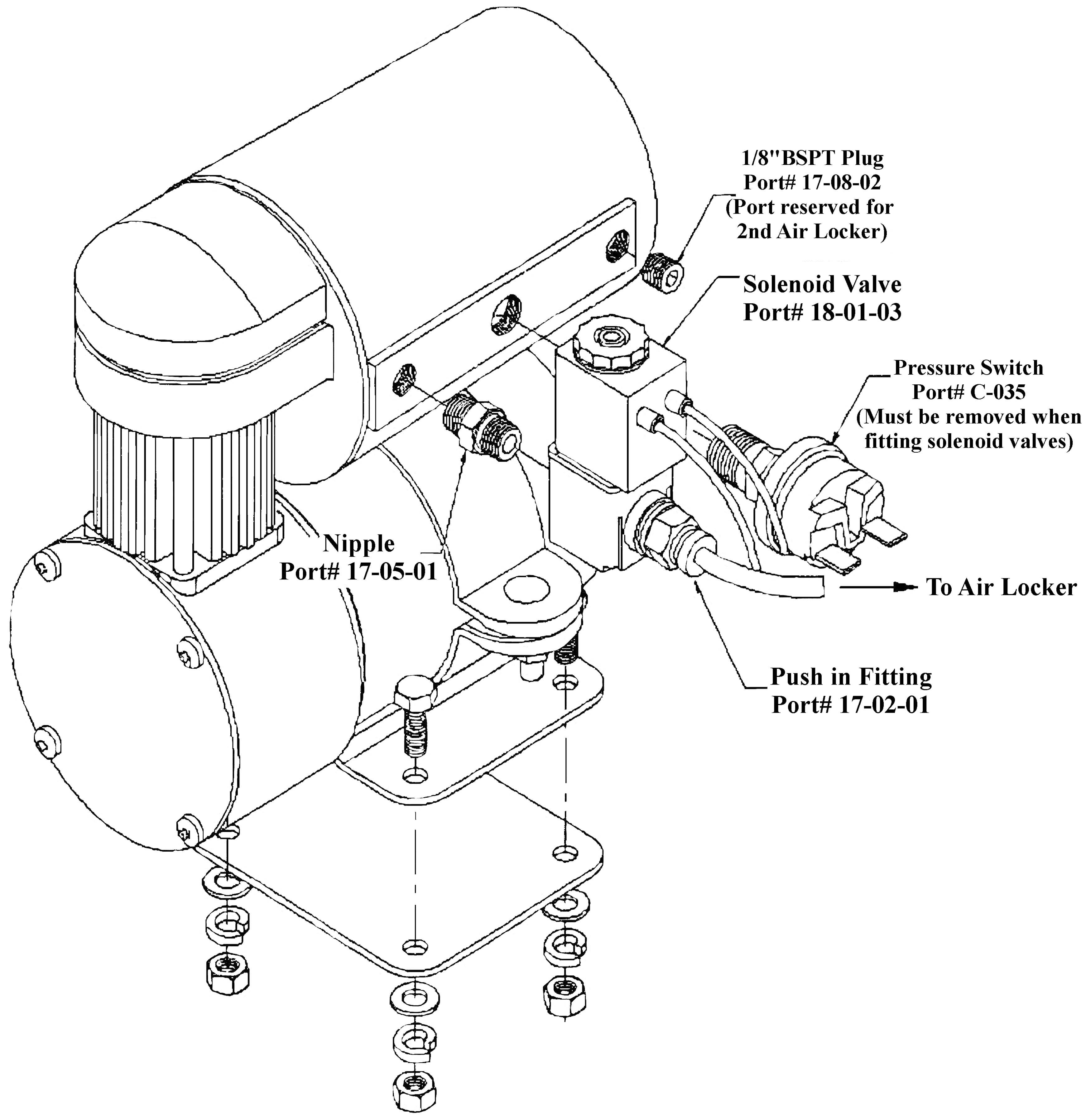 Arb Compressor Diagram