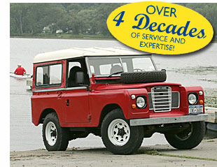 Land Rover Series Parts Catalog