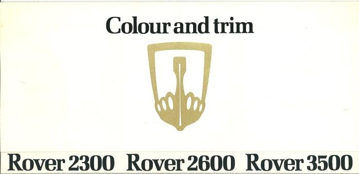 DSC_0029 Rover SD1 Colour Card October 1977