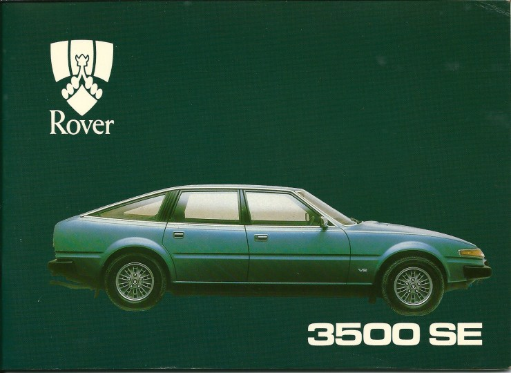 DSC_0002 1981 Rover 3500 SE Fuel Injection Owners Handbook Front Cover