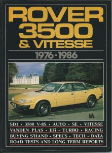 Rover 3500 & Vitesse 1976-1986 complied by R M Clarke