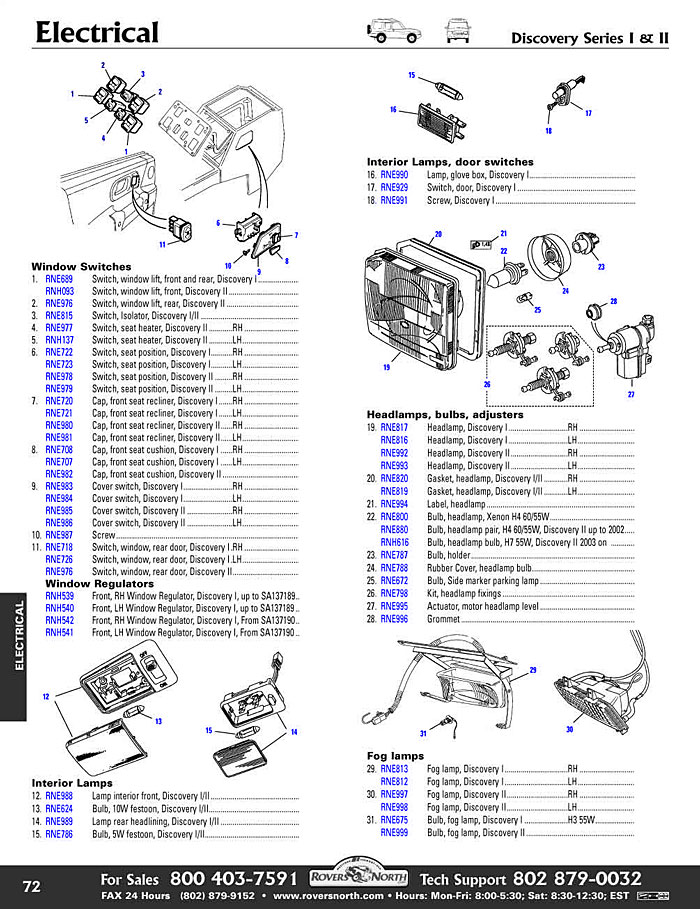 705 discovery II electrical interior lights2?resize=665%2C864 2006 land rover lr3 fuse box diagram 2001 land rover discovery Blue Sea Fuse Box at n-0.co