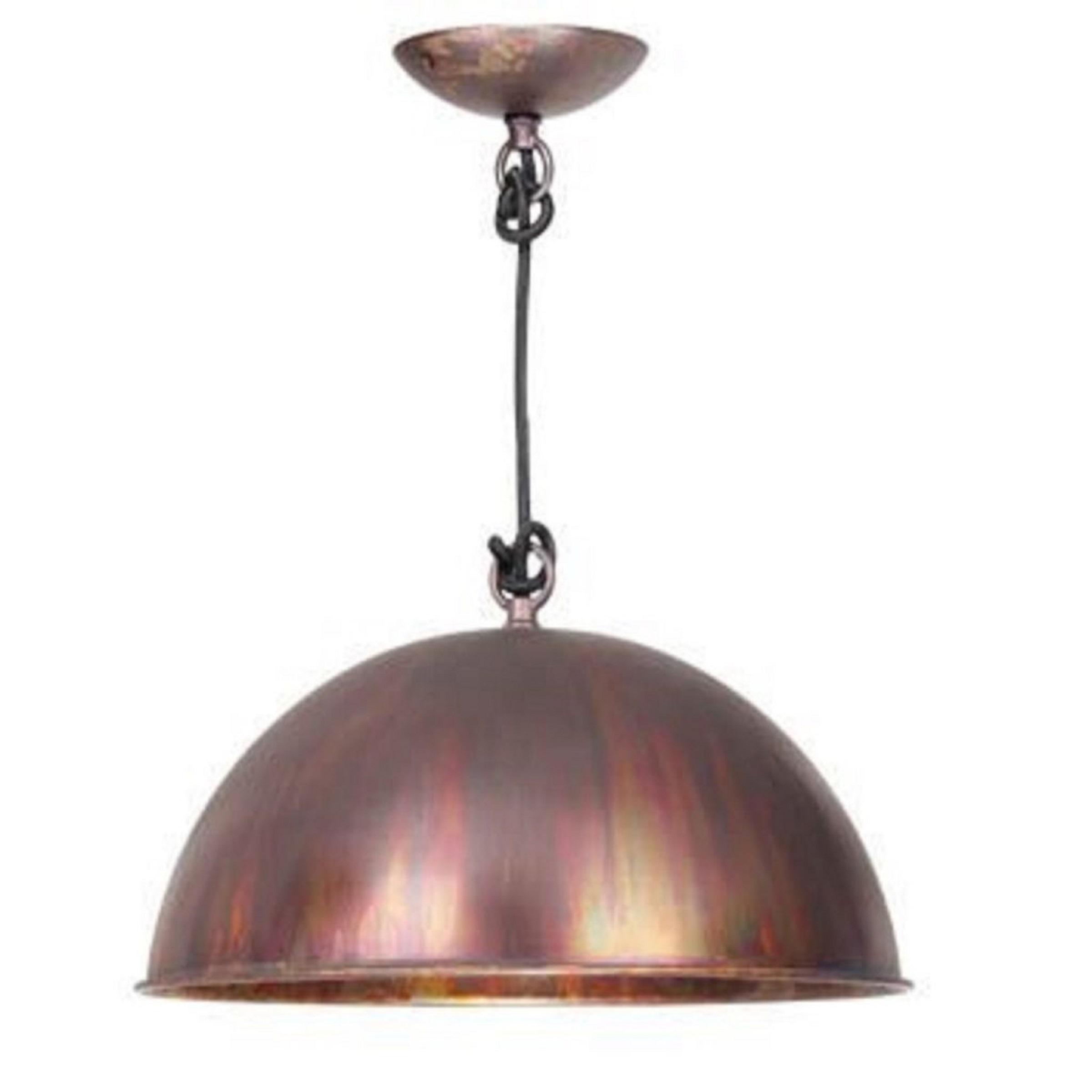 kingston acid wash industrial pendant light