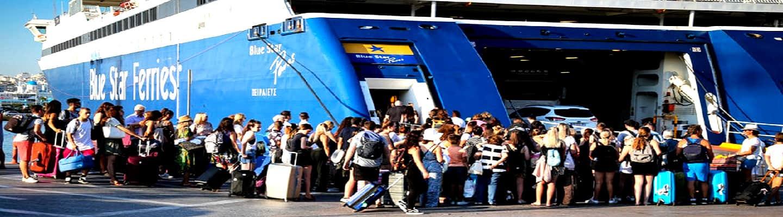 «Οδύσσεια» για χιλιάδες επιβάτες οι καλοκαιρινές διακοπές
