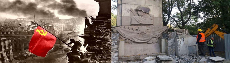 Ένα μνημείο για τον Κόκκινο Στρατό σε κάθε γωνιά της Ευρώπης