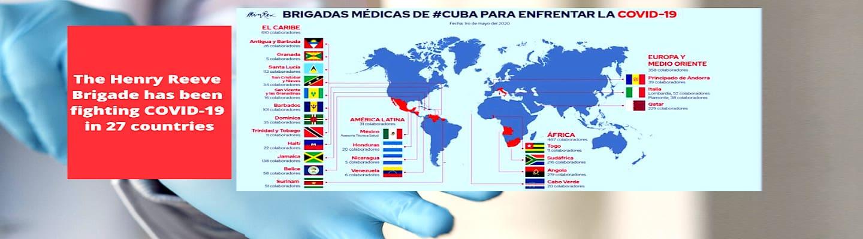 Αξίζει το Νόμπελ η Διεθνής Μπριγάδα Κουβανών Υγειονομικών «Henry Reeve»