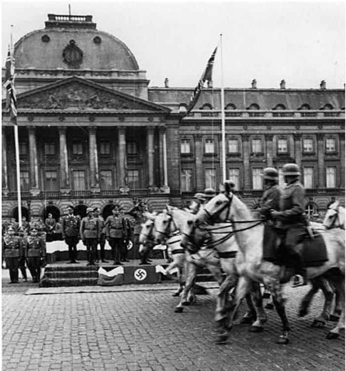 Παρέλαση ναζί Βρυξέλλες