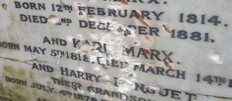 Βεβήλωσαν ξανά τον τάφο του Μαρξ στο Λονδίνο