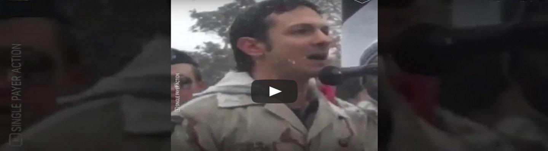 Βετεράνος του Ιράκ: «Θα αγωνιστούμε μέχρι να μην υπάρξει άλλη μέρα ιμπεριαλισμού των ΗΠΑ»