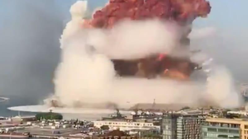 Βηρυτός: Τεράστιες εκρήξεις αισθητές μέχρι την Κύπρο