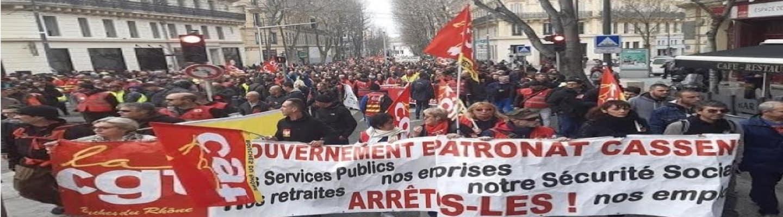 Γαλλία - Ελλάδα όλοι στους δρόμους! Απεργιακή απάντηση τώρα!