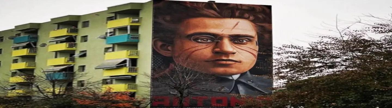 Γκράφιτι του Γκράμσι στη Φλωρεντία προκαλεί «λύσσα» στους φασίστες