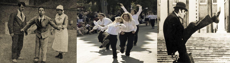 Τι συμβολίζει το Silly Walk των Monty Python;