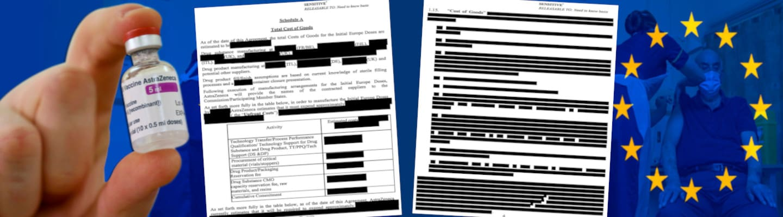 ΕΕ - AstraZeneca Δημοσίευσαν τμήματα του συμβολαίου με σβησμένες ημερομηνίες, ποσότητες και τιμές