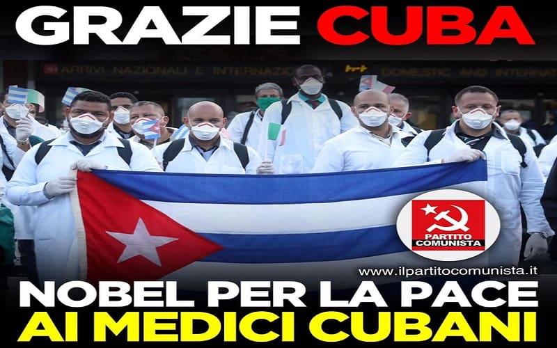 ΚΚ Ιταλίας - Ευχαριστούμε Κούβα