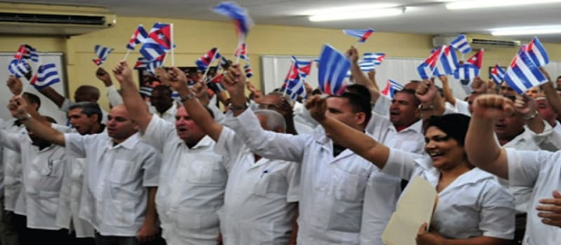 Κουβανοί γιατροί σε Διεθνιστική αποστολή
