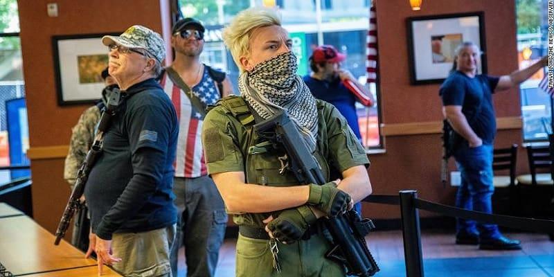 ΗΠΑ: Μέλη ακροδεξιάς οργάνωσης σχεδίαζαν προβοκάτσια κατά διαδηλώσεων