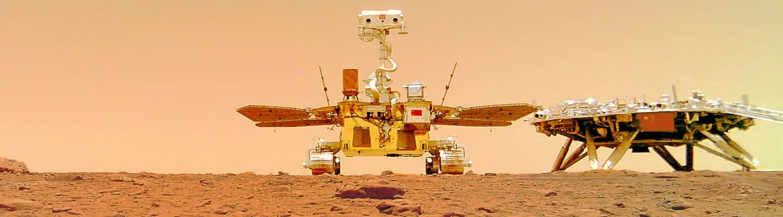 Η Κίνα δημοσίευσε βίντεο από το ρομπότ που προσγειώθηκε στον Αρη