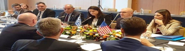 Η Κεραμέως είναι «η καλύτερη μαθήτρια» της Αμερικανικής Πρεσβείας