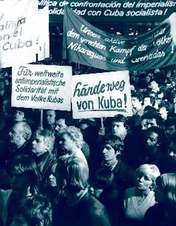 Αλληλεγγύη Κούβα Αν. Γερμανία