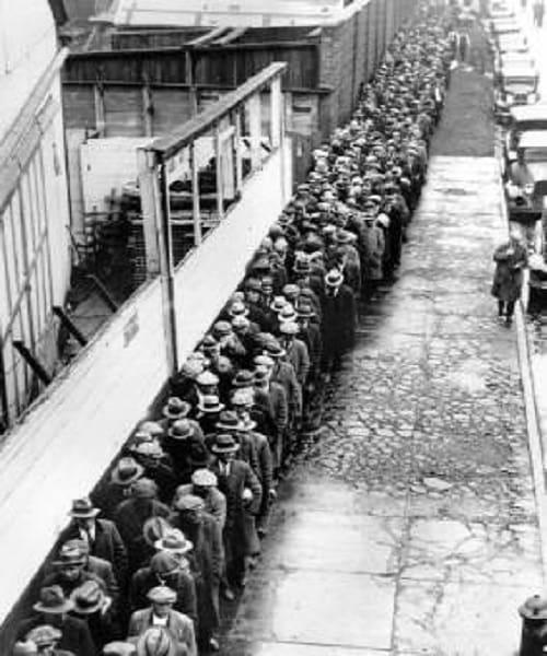 Ουρές ανέργων ΗΠΑ