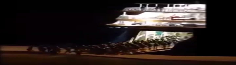 Η στιγμή της απόβασης των MAT στο λιμάνι της Χίου