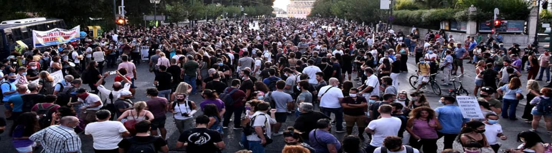 Καλλιτέχνες: Ογκώδης η διαδήλωση για τα δικαιώματά τους