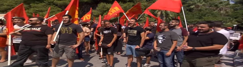 Μαχητική διαμαρτυρία κατά της αποφυλάκισης Κορκονέα