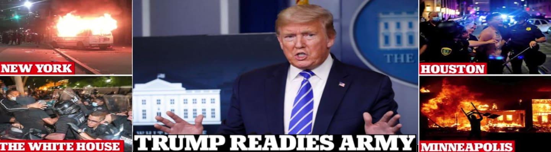 Νέες απειλές Τραμπ κατά των διαδηλωτών για επέμβαση του στρατού