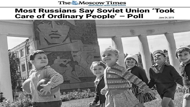 «Τώρα έχω τζιν αλλά δεν τα χρειάζομαι πια - Προτιμώ να γυρίσω στην ΕΣΣΔ»