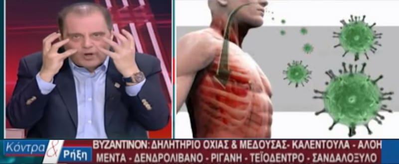 Ξεχάστε το εμβόλιο - Ο Βελόπουλος λανσάρει κηραλοιφή για τον κορωνοϊό