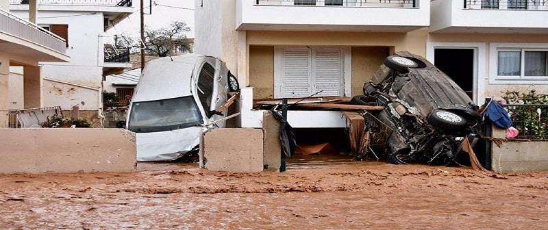 Πλημμύρες Μάνδρα