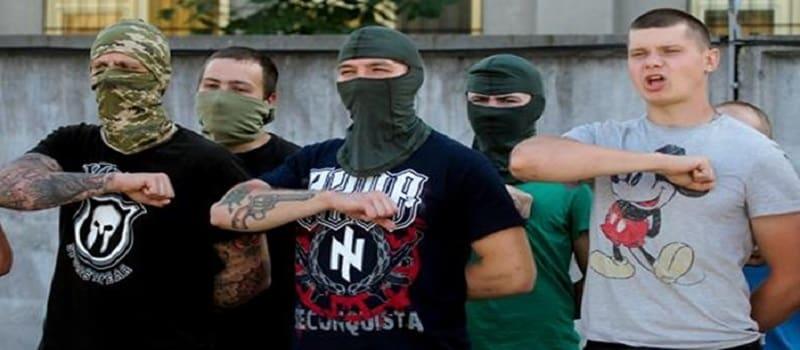 Ουκρανοί φασίστες εκπαιδεύουν Αμερικανούς Νεοναζί
